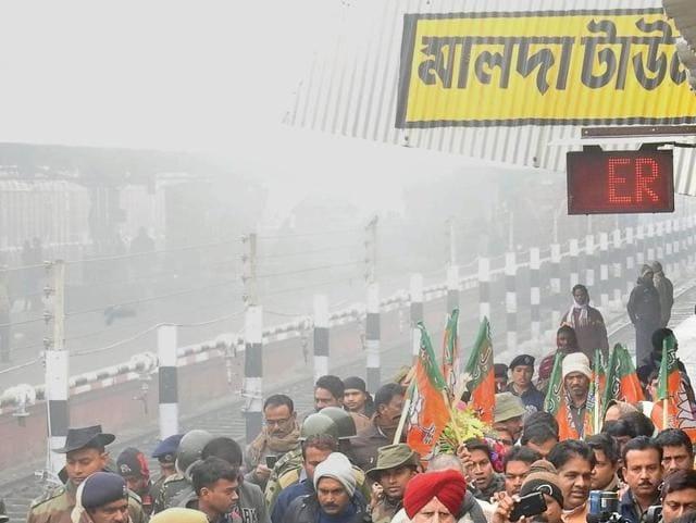 Myanmarese arrested in West Bengal,Samsi station,Krishnagopal Dutta