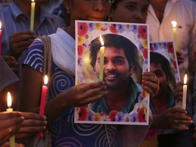 Andhra Pradesh government said on Wednesday it would offer jobs to the family of Rohith Vemula, the research scholar at Hyderabad Central University who committed suicide on Sunday.