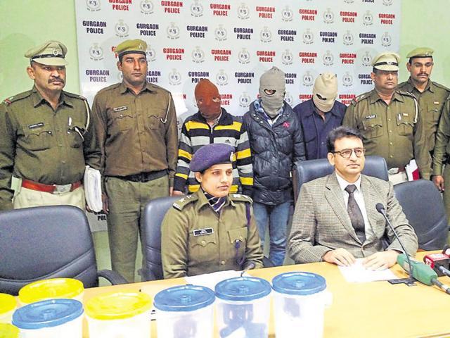 Gurgaon,Rajasthan police,Seikhopur