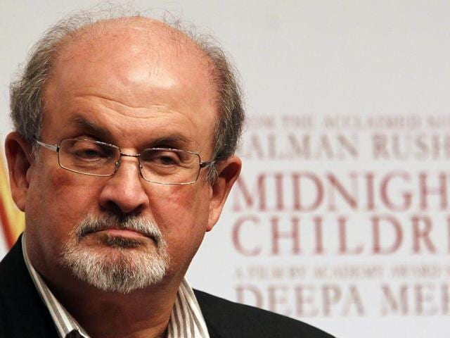 Invited to JLF's 2012 edition, author Salman Rushdie had to cancel his appearance citing threat to his life. In this January 2013 file photo, he attends a promotional event of Midnight's Children in Mumbai, India.