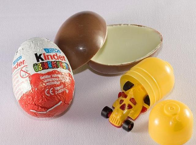 The three-year-old girl died after choking on the hidden toy inside the chocolate egg.