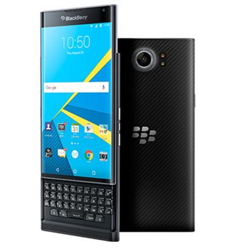 BB Priv's version of Android borrows heavily from the Blackberry OS 10.