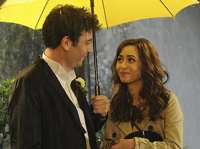Josh Radnor and Cristin Milioti in a still from How I Met Your Mother.