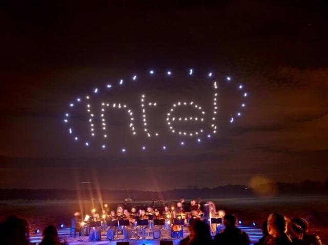 100 dancing drones now listed in the Guinness Book of World Records, courtesy of Intel.