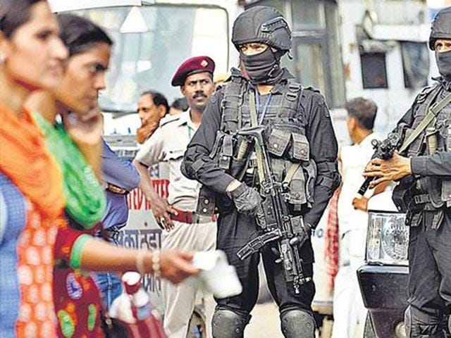 Extra paramilitary forces were deployed in New Delhi, Mumbai and Bangalore.