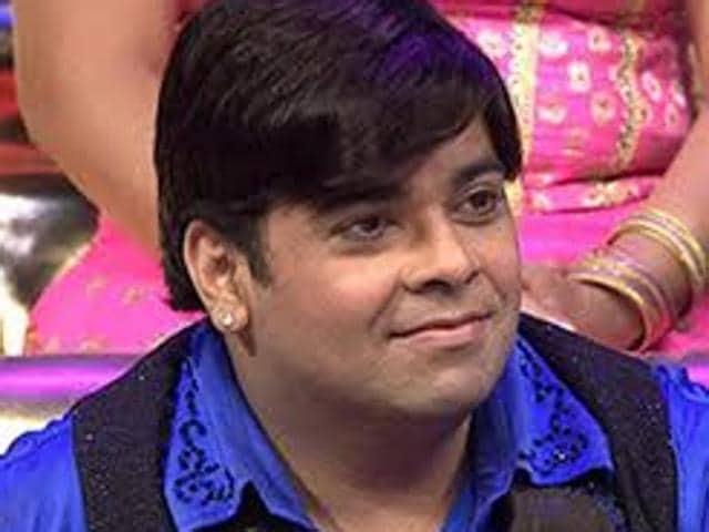 TV comedian Kiku Sharda