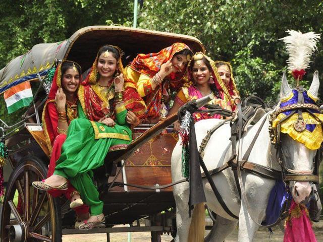 Punjab tableau,Republic Day parade,Khalsa Heritage Complex