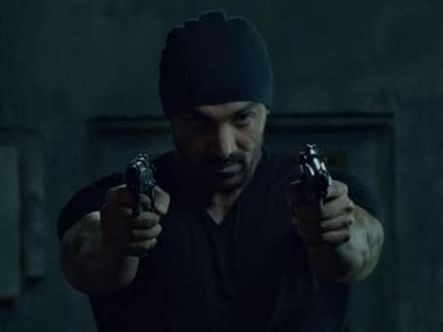 The first trailer of Rocky Handsome is all about John Abraham.