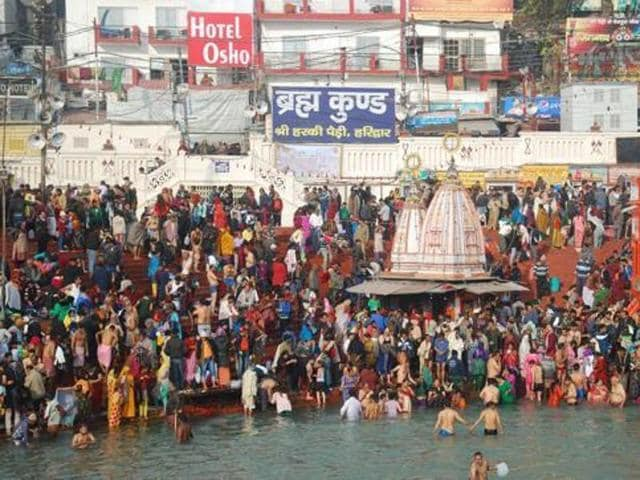 Security around sensitive and crowded spots, including Har Ki Pairi has been tightened, Inspector General of Police G S Martolia, in charge of the security for the mela