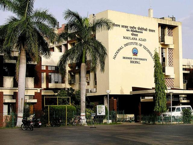 File photo of Maulana Azad National Institute of Technology in Bhopal.  According to some students, beating up juniors is a common occurrence on the institute campus.