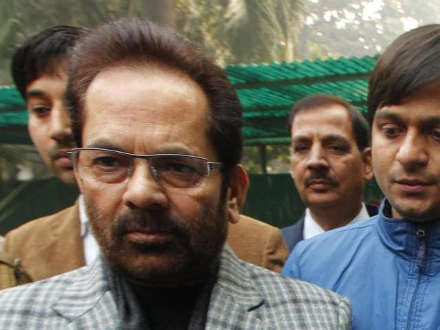 Mukhtar Abbas Naqvi o,Rahul Gandhi,intolerance