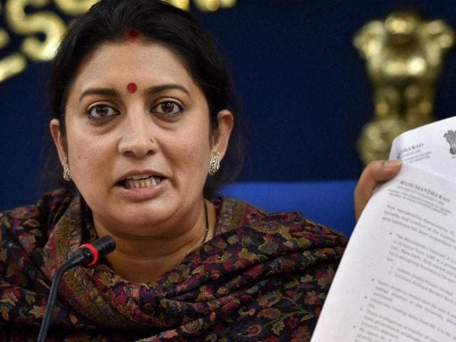 Smriti Irani on Thursday faced a barrage of criticism for allegedly distorting facts in the Dalit scholar suicide case as the Congress and Aam Aadmi Party (AAP) accused her of lying to absolve the BJP-led government in the incident.