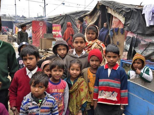 children,Fauji Mohalla,Ludhiana
