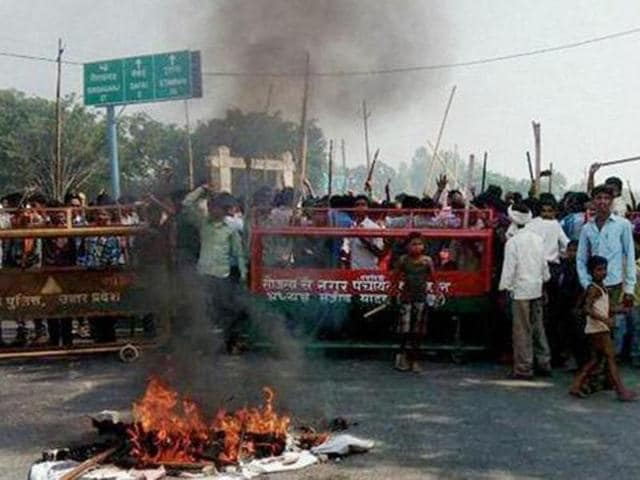 Cow slaughter,Kanpur,Communal tension