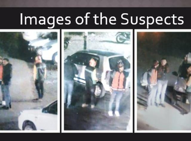 Delhi Police released images of the suspects on Twitter