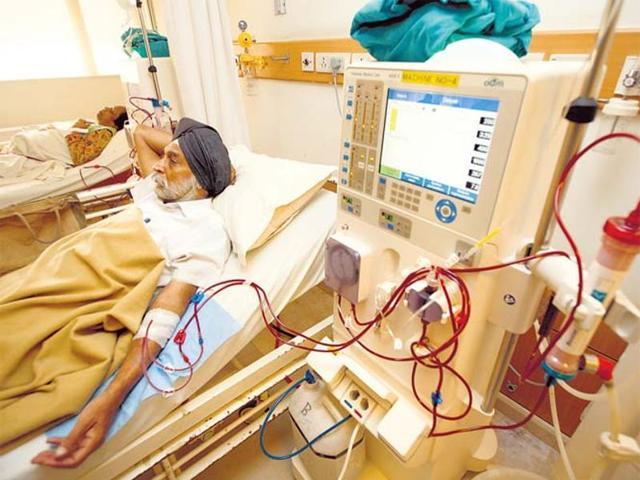 GMCH,dialysis,one step crisis
