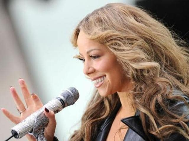 USsinger Mariah Carey. (Shutterstock)