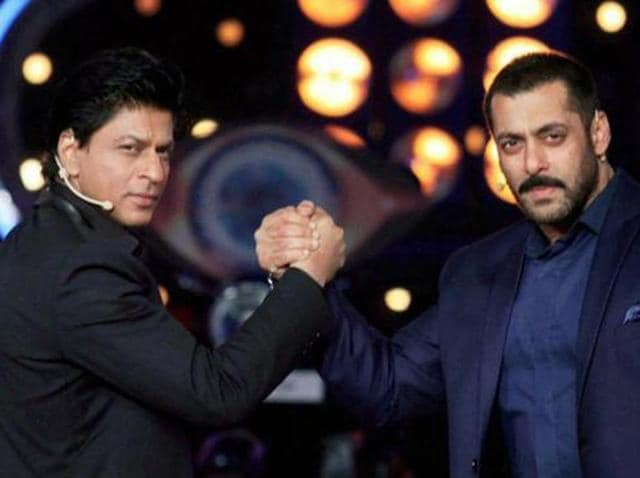 A court has accepted a plea  against Bollywood actors Salman Khan, Shah Rukh Khan and a private TV channel for purportedly showing the actors inside a temple wearing shoes during a reality show.