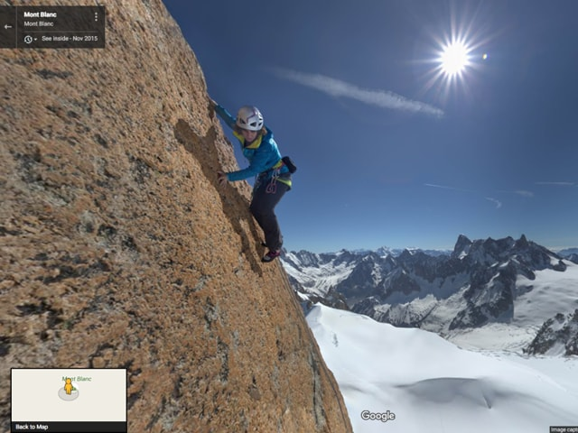You can now virtually experience Europe's highest mountain from the perspective of a climber, thanks to Google Street View