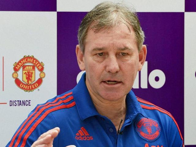 Manchester United's most-capped captain Bryan Robson