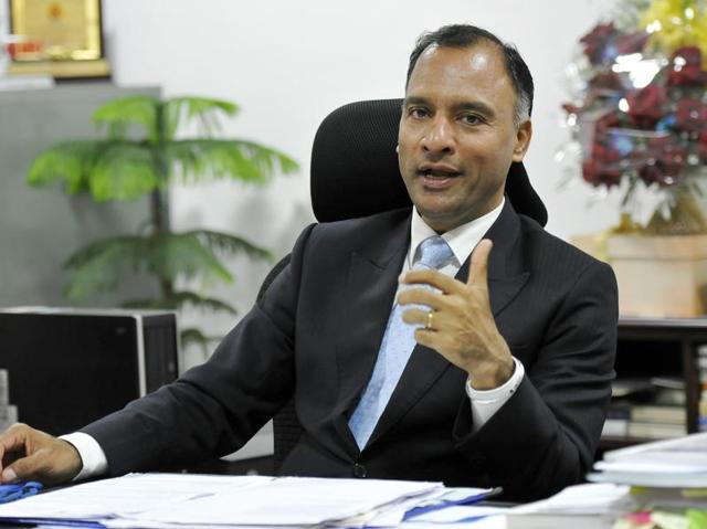 Advisor to administrator Vijay Dev during an interview at his office in Chandigarh on Thursday, January 21, 2016.