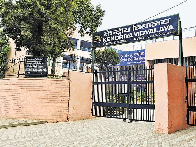 Kendriya Vidyalaya at Sector 31, Chandigarh.
