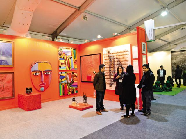 This year, the India Art Fair will be held on January 28-(India Today Group/Getty Images)