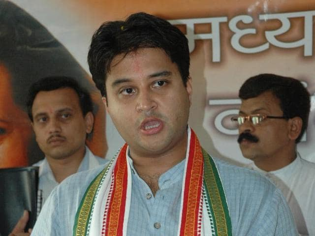 Jyotiraditya Scindia accused the BJP of intending to deceive the people in the name of helping the economy.
