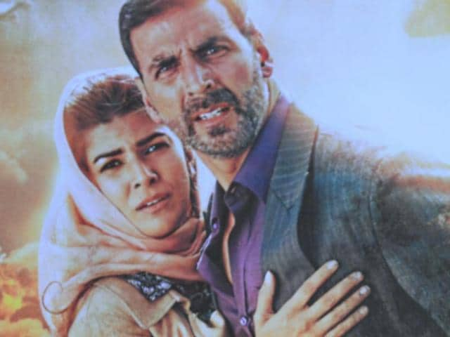 Airlift is based on the world's biggest civil evacuation - that of Indians based in Kuwait during the Iraq-Kuwait war. The film stars Akshay Kumar and Nimrat Kaur.
