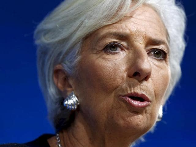 International Monetary Fund (IMF) Managing Director Christine Lagarde attends a session at the annual meeting of the World Economic Forum (WEF) in Davos, Switzerland in this January 21, 2016 file photo. Lagarde said on January 22, 2016 she will run for a second term. REUTERS/Ruben Sprich/Files