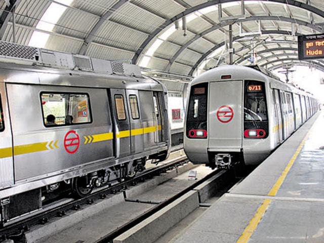 Delhi Metro has already placed orders for another 429 coaches that would be deployed on the existing lines.(HT File Photo)