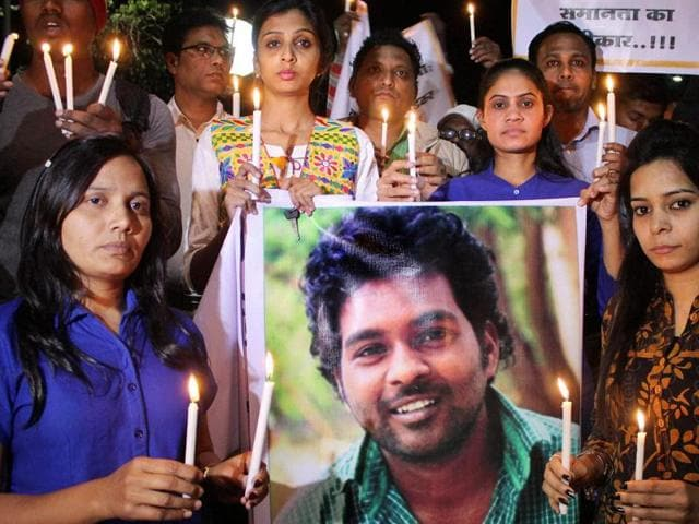 Rohith Vemula,Dalit scholar's suicide,University of Hyderabad