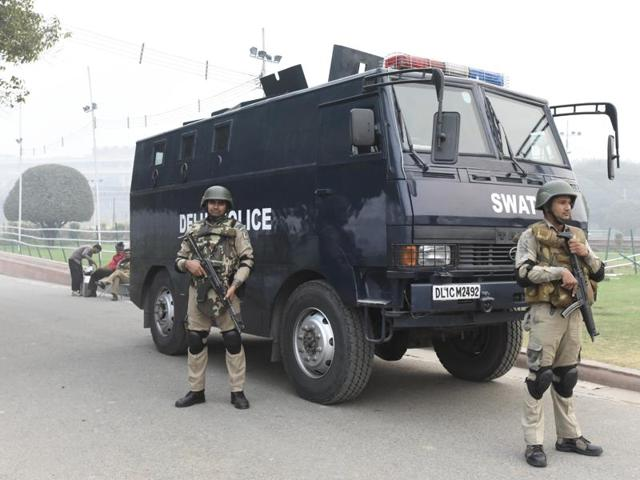 Delhi Police special cell officials are looking for two suspected militants, belonging to the IM earlier but now associated with the IS, who allegedly radicalised the four students.