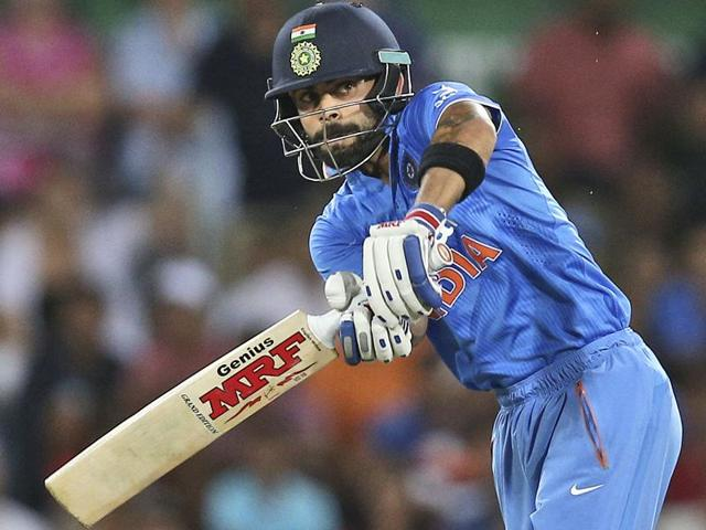 Despite the Indian batting order's implosion in Canberra, the fine displays by Virat Kohli, Shikhar Dhawan, Rohit Sharma and Ajinkya Rahane have impressed Australian players and fans.(AFP Photo)