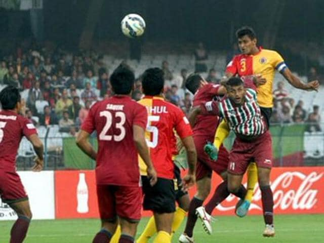 The Kolkata Derby between Mohun Bagan and East Bengal ended in a 1-1 draw.