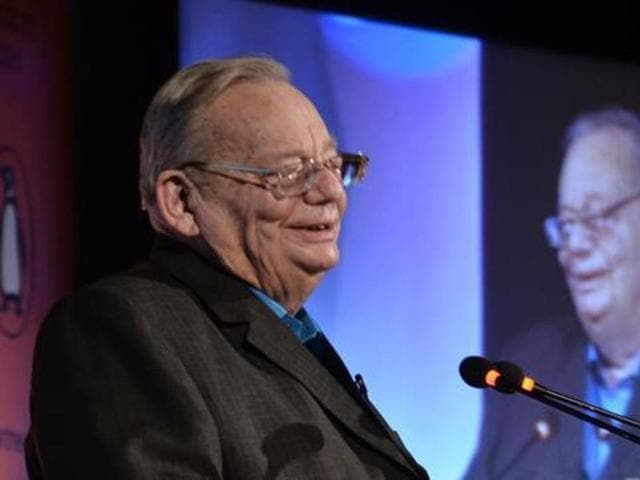 The country's beloved and reclusive writer, Ruskin Bond, descended from his beloved hills to delight an audience at the ninth Penguin Annual Lecture in Delhi.