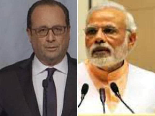 Narendra Modi,Francois Hollande,Gurgaon