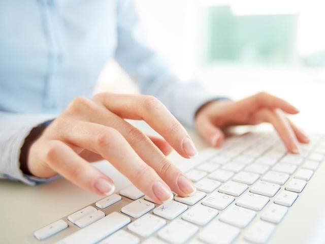 Slow typing allows you more time for internal word search, and it results in a larger variety of words.