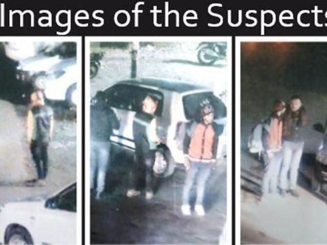 Images of the suspects released byDelhi police on Twitter (Photo courtesy-Twitter).