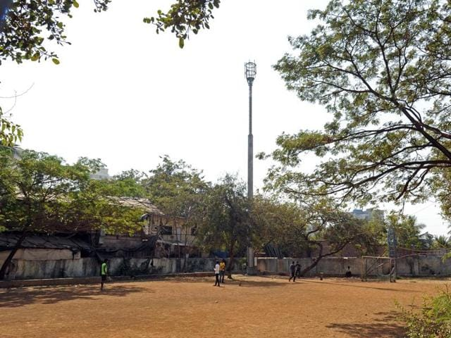 The tower has been installed at a ground maintained by the YMCA and has close to 20 buildings around it.