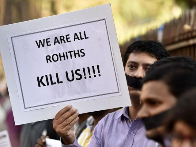 Hyderabad,Scholar's suicide,Rohith Vemula