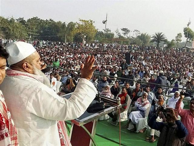 AIUDF hief,Assm polls,Muslims