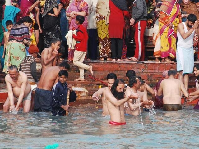 The four students arrested with alleged connection to the Islamic State group were planning for an explosion that would have led to a fatal stampede at the Ardh Kumbh, a key day of pilgrimage for Hindus.
