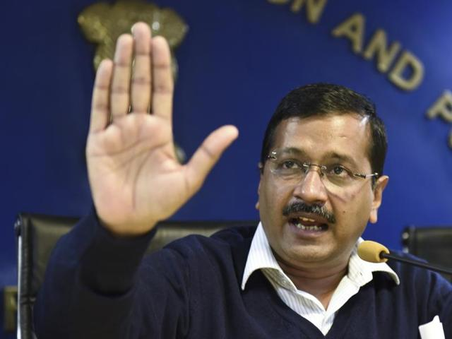 """The AAP government said the CBI conducted raids at the office of Delhi chief minister Arvind Kejriwal's principal secretary's office last month under """"undue political pressure."""