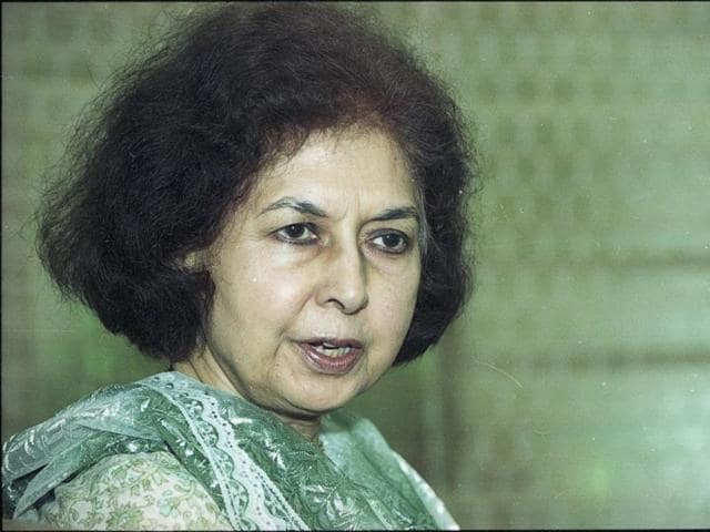 Noted author and daughter of Vijaylaxmi Pandit, Nayantara Sahgal was one of the first to return her Sahitya Akademi award in protest of 'rising intolerance' in the country.