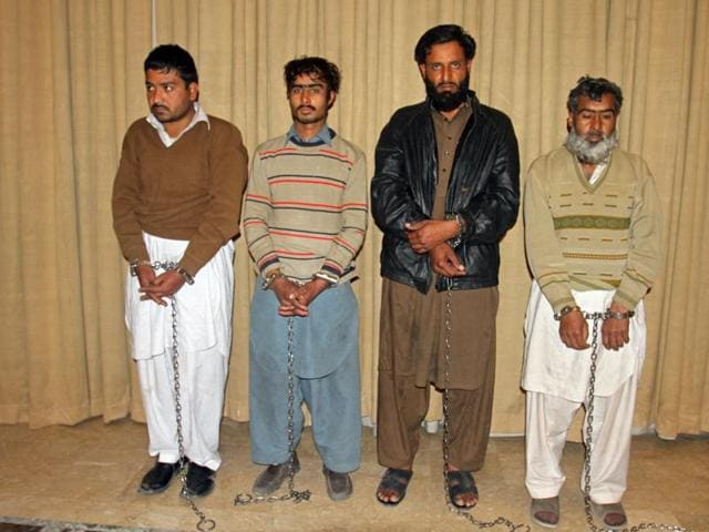 Pakistani military has arrested four persons who allegedly provided shelter and logistical support to the four attackers.