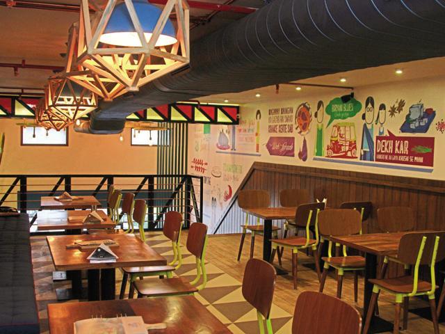 Farzi Cafe,Royal China,Biryani Blues