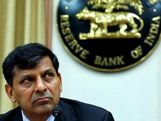 Reserve Bank of India (RBI) governor Raghuram Rajan speaks during a news conference in Mumbai.