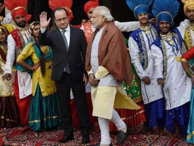 French President in Chandigarh,Francois Hollande,City Beautiful Chandigarh