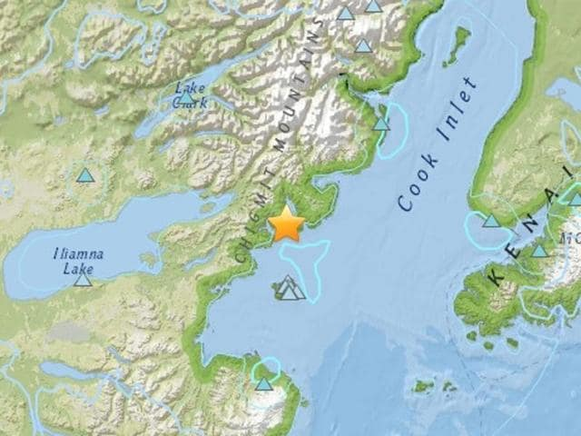 Earthquake,Cook Inlet,US geological Survey